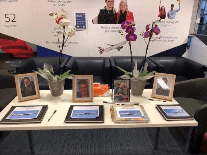 British Airways ha confirmado la autenticidad de cuatro libros de condolencias