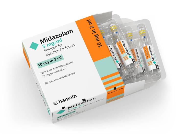 Midazolam o benzodiazepina